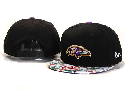 Baltimore Ravens New Type Snapback Hat YS A714